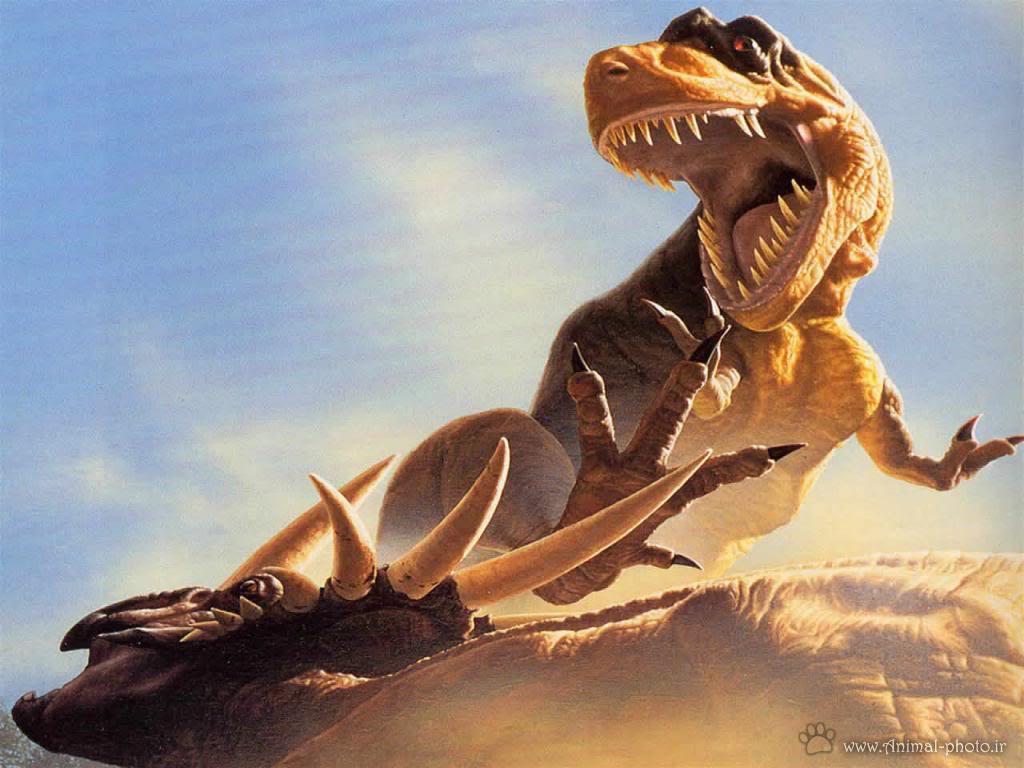 جنگ دایناسور ها