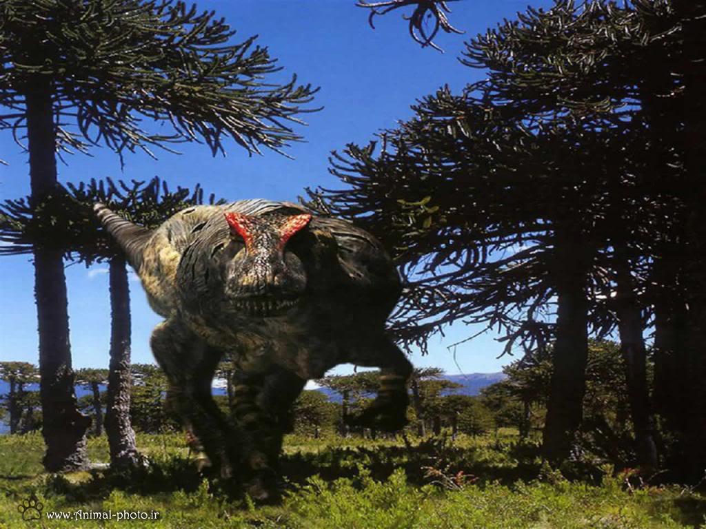 دایناسور وحشی گوشتخار